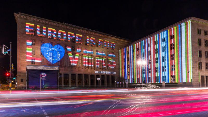 #EuropeIsForLovers – Europas Sterne leuchten