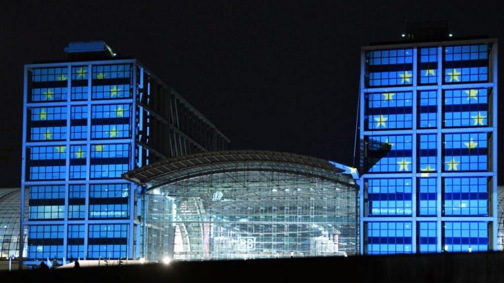 Großer Bahnhof für die Lichtkunst