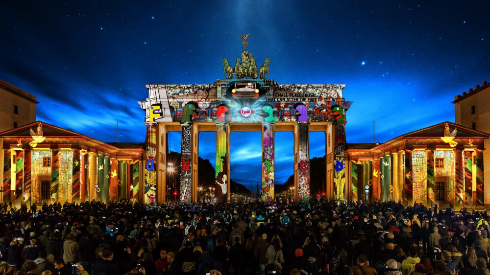 The Light of Freedom shines in Berlin