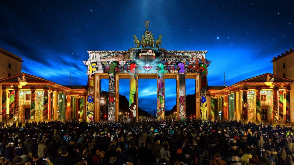 Das Licht der Freiheit leuchtet in Berlin