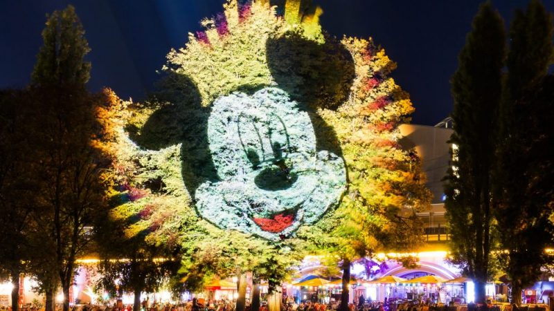 Mickey Mouse besucht Berlin